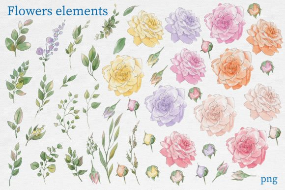 Print on Demand: Delicate Spring Flowers Graphic Illustrations By nicjulia - Image 13