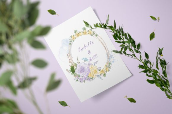 Print on Demand: Delicate Spring Flowers Graphic Illustrations By nicjulia - Image 2