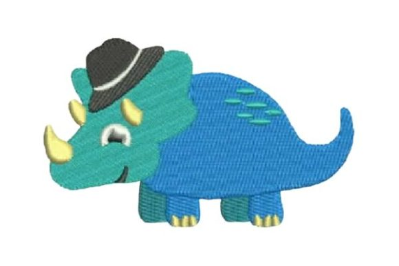 Dinosaur Boy Dinosaurs Embroidery Design By Embroidery Designs - Image 1