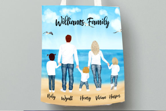Family Clipart Graphic Illustrations By LeCoqDesign - Image 8