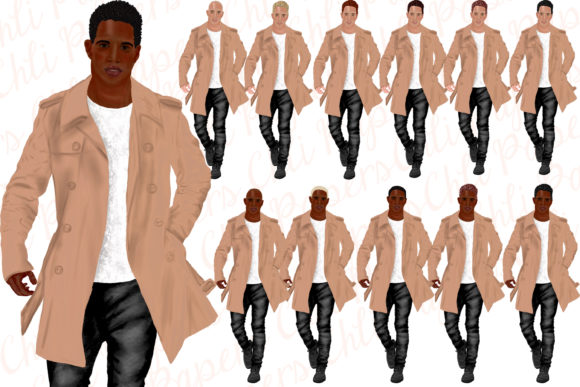 Fashion Man Dressed Graphic Illustrations By ChiliPapers - Image 4