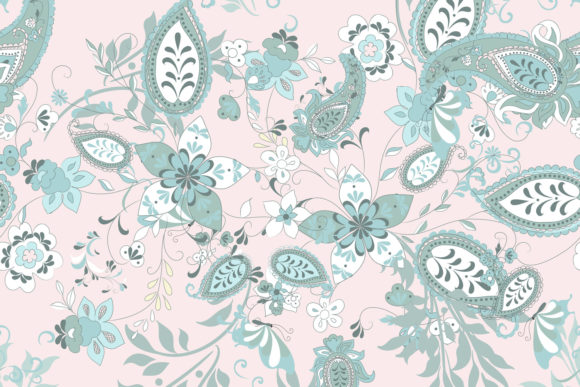 Floral Seamless Pattern Ethnic Ornament Graphic Patterns By fleurartmariia