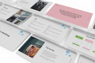Download Free Laundry Powerpoint Template Graphic By Formatikastd Creative for Cricut Explore, Silhouette and other cutting machines.