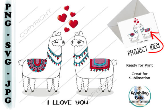 Llove You Graphic Illustrations By RamblingBoho