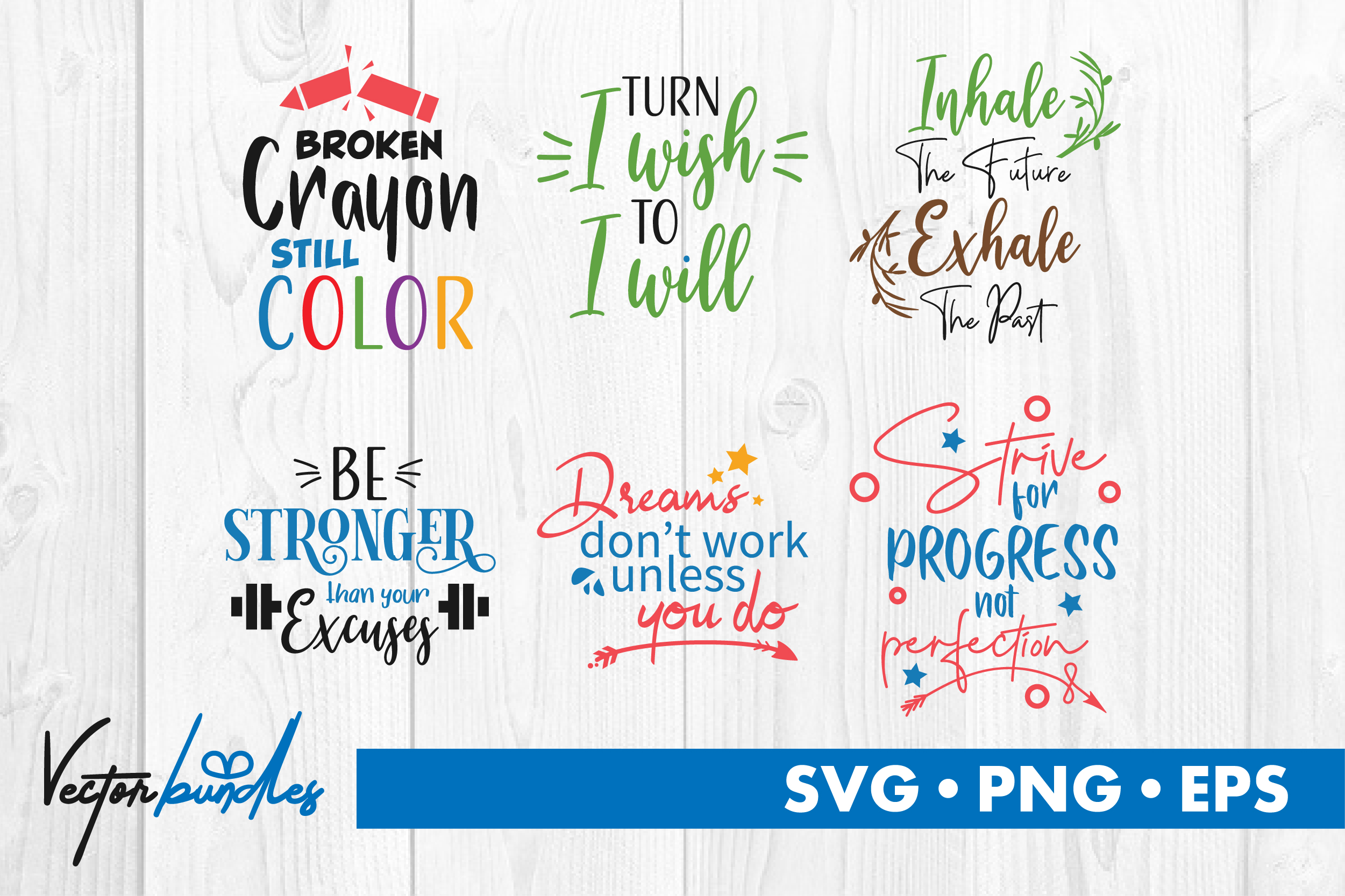 Download Free Motivational Quotes Graphic By Vectorbundles Creative Fabrica for Cricut Explore, Silhouette and other cutting machines.