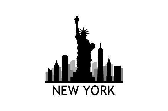 Print on Demand: New York Skyline Graphic Icons By marco.livolsi2014 - Image 1