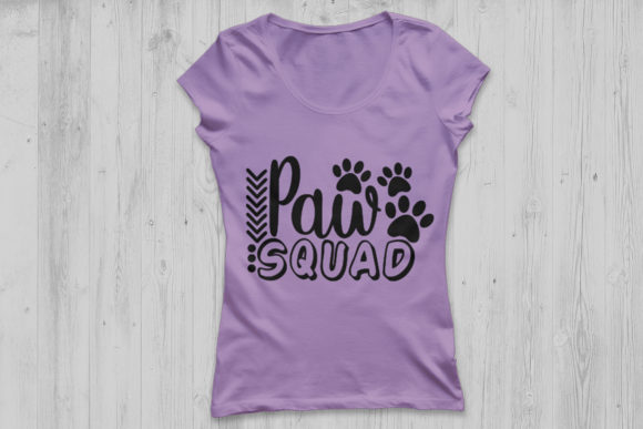 Download Free Paw Squad Graphic By Cosmosfineart Creative Fabrica for Cricut Explore, Silhouette and other cutting machines.