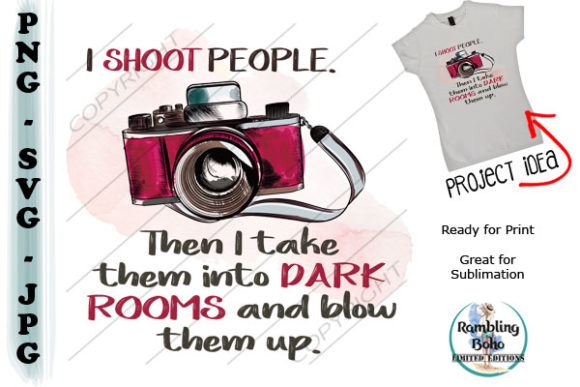 Photography Humor Graphic Illustrations By RamblingBoho - Image 1