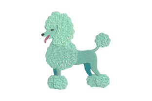 Poodle Dogs Embroidery Design By Embroidery Designs