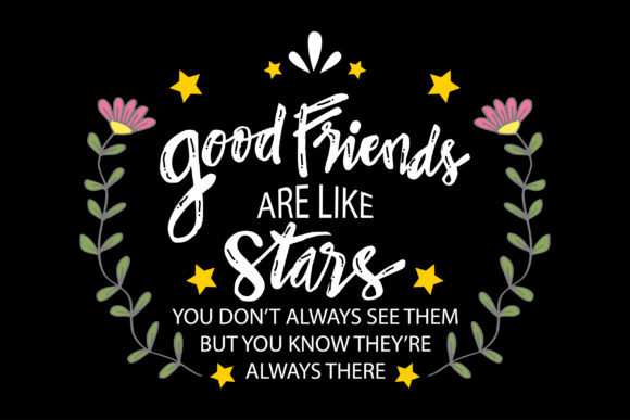 Quote Friendship Graphic Graphic Templates By han.dhini