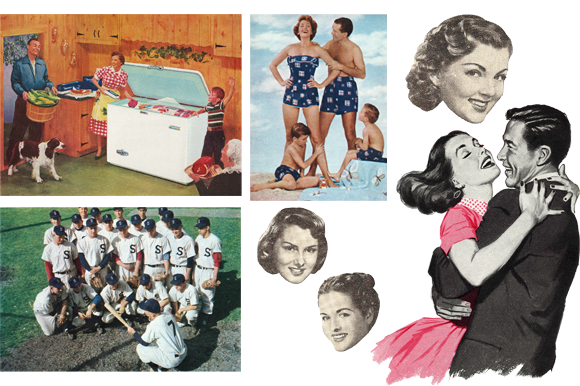 Retro Americana Magazine Images Graphic Illustrations By Sensible Eye - Image 9
