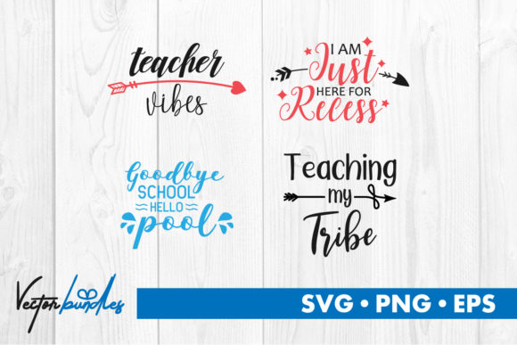 Print on Demand: School Quotes Graphic Crafts By vectorbundles