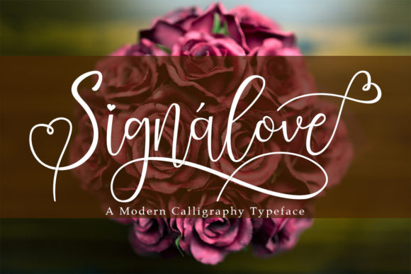 Print on Demand: Signalove Script & Handwritten Font By Madatype Studio - Image 1