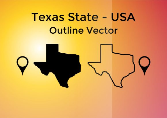 Print on Demand: Texas State Outline Graphic Crafts By Laks Mi