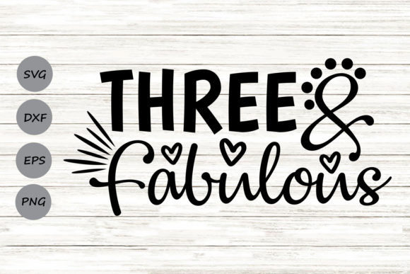 Download Free Three And Fabulous Graphic By Cosmosfineart Creative Fabrica for Cricut Explore, Silhouette and other cutting machines.