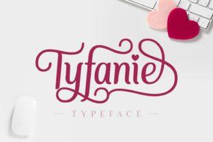 Print on Demand: Tyfanie Script & Handwritten Font By Jasm (7NTypes)