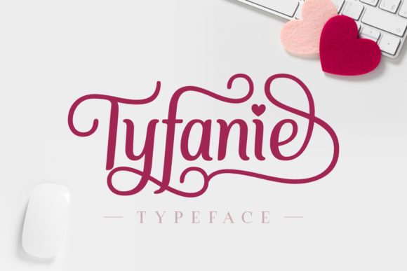 Print on Demand: Tyfanie Manuscrita Fuente Por Jasm (7NTypes)