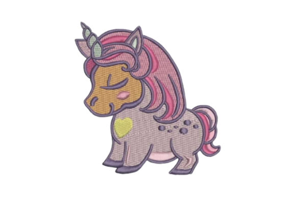 Unicorn for Kids Fairy Tales Embroidery Design By Embroidery Designs - Image 1