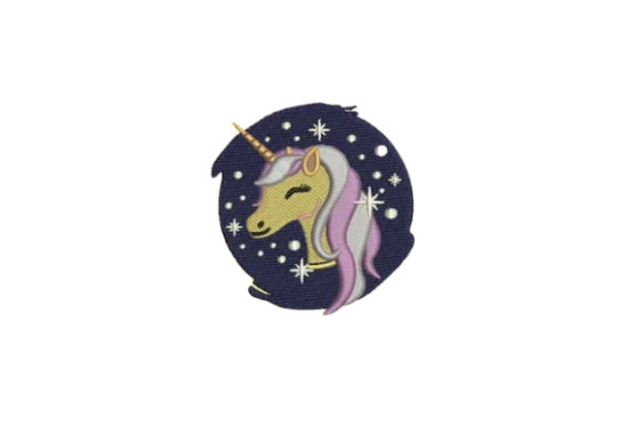 Unicorn for Tweens Teenagers Embroidery Design By Embroidery Designs