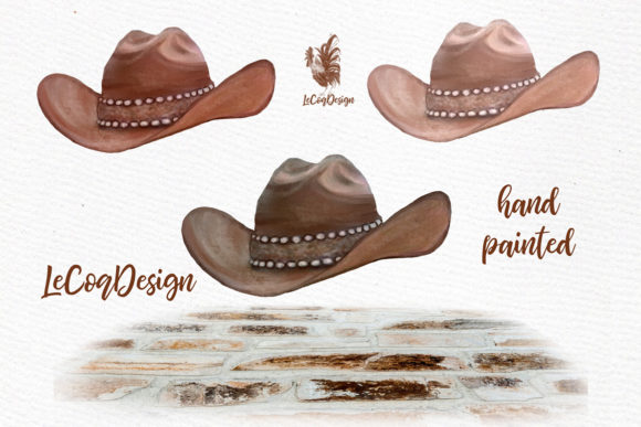 Western Girls Graphic Illustrations By LeCoqDesign - Image 5