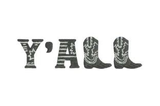 Y'all Farm & Country Embroidery Design By Embroidery Designs