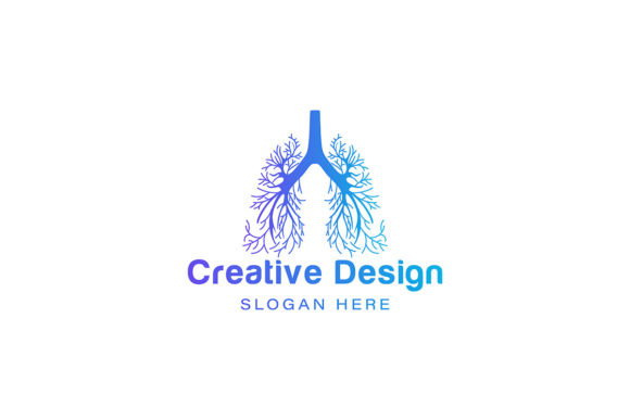 Lung Logo Ideas Inspiration Logo Design Graphic By
