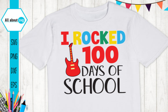 Download Free 100 Days Of School Bundle Graphic By All About Svg Creative for Cricut Explore, Silhouette and other cutting machines.