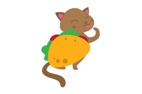 Download Free Cat In A Taco Suit Svg Cut File By Creative Fabrica Crafts for Cricut Explore, Silhouette and other cutting machines.