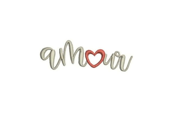 Amour Valentine's Day Embroidery Design By Embroidery Designs - Image 1