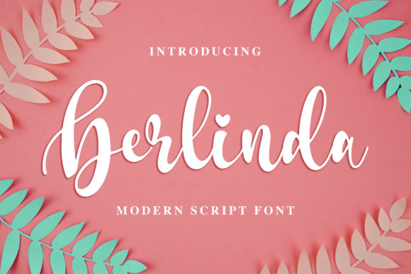 Print on Demand: Berlinda Script & Handwritten Font By Blankids Studio