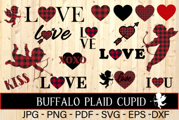 Download Free Buffalo Plaid Alphabet Christmas Graphic By Therosemind SVG Cut Files