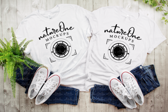 Couple Mockup Graphic Product Mockups By natureOneMockups