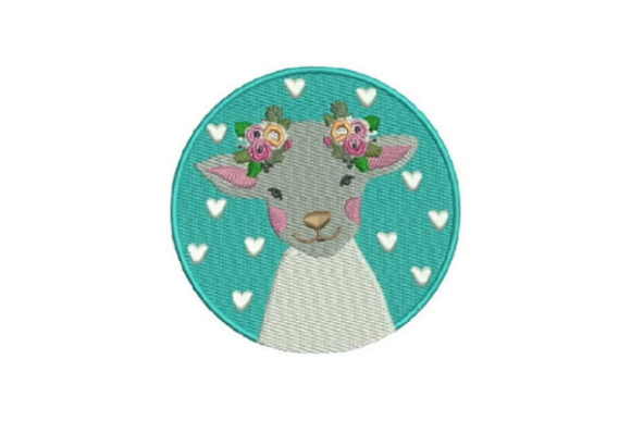 Cute Sheet Baby Animals Embroidery Design By Embroidery Designs - Image 1