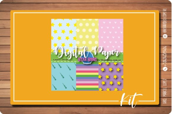 Print on Demand: Digital Paper Graphic Patterns By Marcel de Cisneros