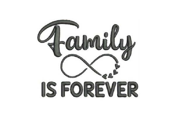 Download Free Family Is Forever Creative Fabrica for Cricut Explore, Silhouette and other cutting machines.
