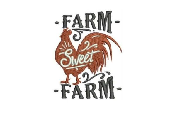 Farm Sweet Farm Farm & Country Embroidery Design By Embroidery Designs