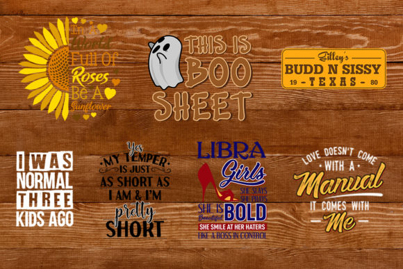 Download Free Funny Quotes Bundle Graphic By Svgsupply Creative Fabrica for Cricut Explore, Silhouette and other cutting machines.