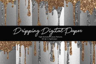 Glitter Digital Paper Graphic Textures By DAYDESIGN