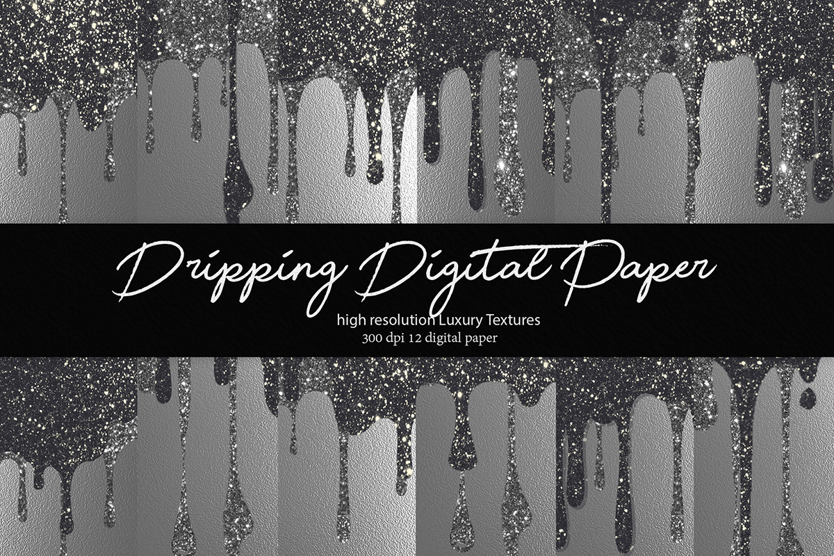 Download Free Glitter Digital Paper Graphic By Daydesign Creative Fabrica for Cricut Explore, Silhouette and other cutting machines.