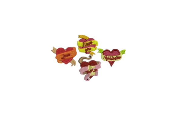 Download Free Hearts Ribbon Creative Fabrica for Cricut Explore, Silhouette and other cutting machines.
