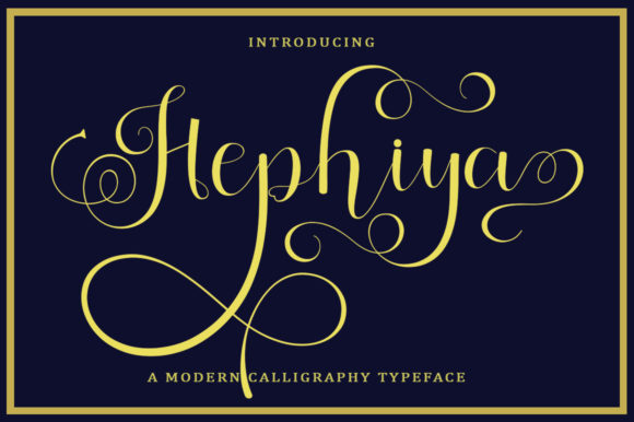 Print on Demand: Hephiya Script & Handwritten Font By bungletter