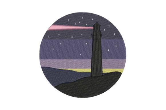 Lighthouse Beach & Nautical Embroidery Design By Embroidery Designs