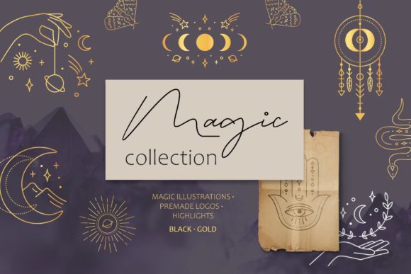 Magic Collection Graphic Illustrations By Alisovna