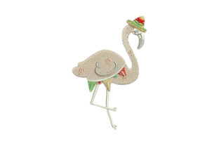 Mexican Flamingo Mexico Embroidery Design By Embroidery Designs