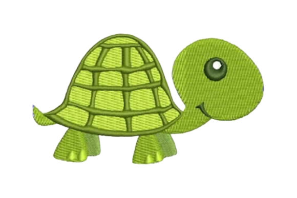 Nursery Turtle Baby Animals Embroidery Design By Embroidery Designs - Image 1