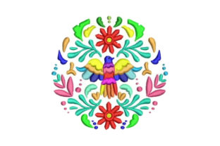 Otomi Bird Design Mexico Embroidery Design By Embroidery Designs
