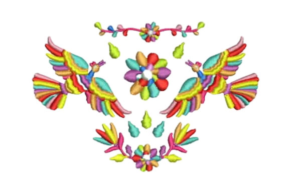 Otomi Design Mexico Embroidery Design By Embroidery Designs