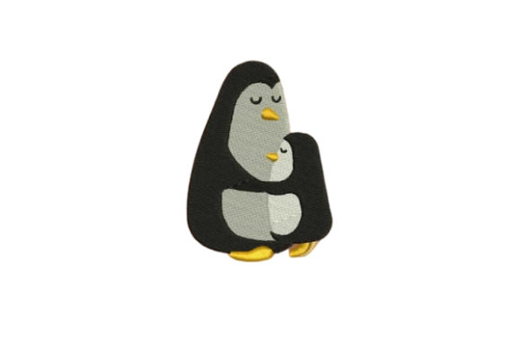 Penguin Marine Mammals Embroidery Design By Embroidery Designs - Image 1