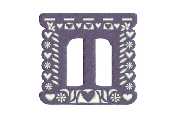 Download Free Papel Picado Alphabet T Creative Fabrica for Cricut Explore, Silhouette and other cutting machines.