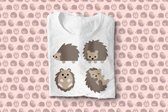 Playful Hedgehogs Graphic Crafts By RisaRocksIt